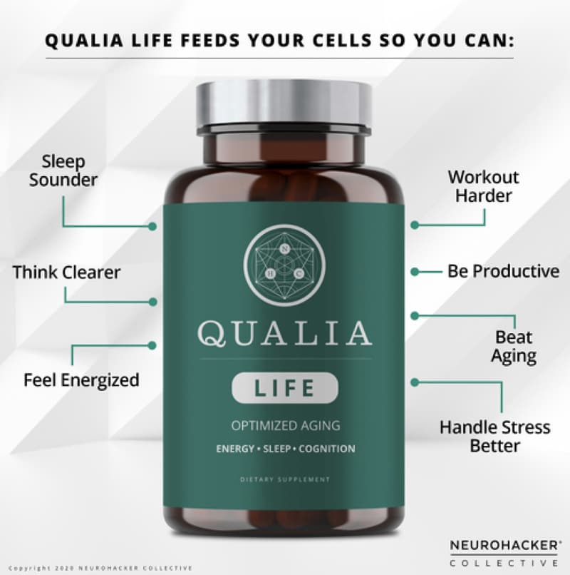 Qualia Life is a great supplement for longevity