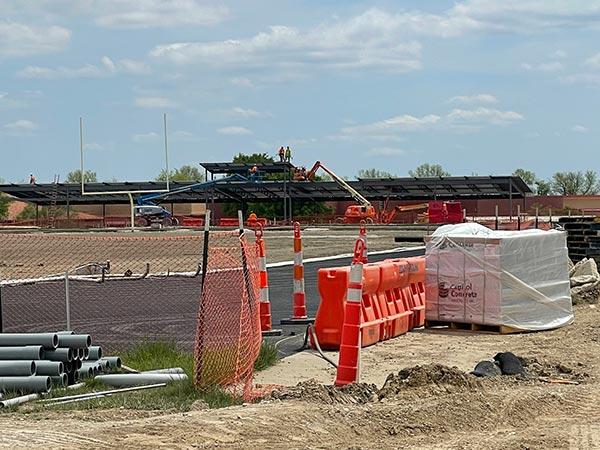 New Stadium. May 2021.