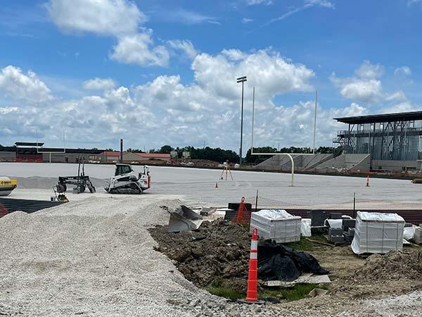 New Stadium. June 2021.