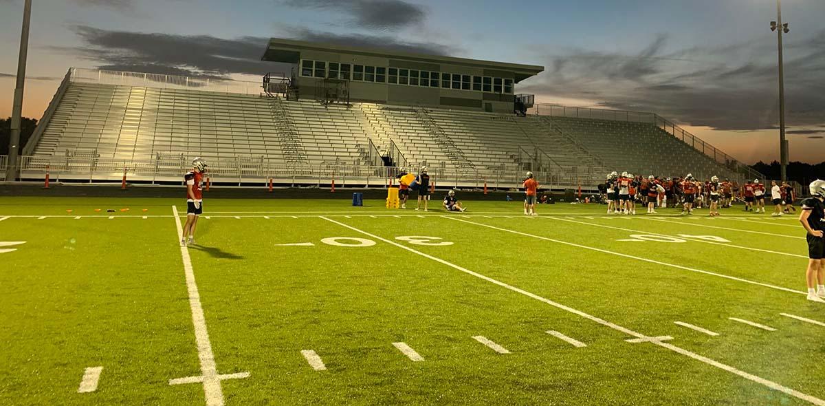 New Stadium. Aug 2021.