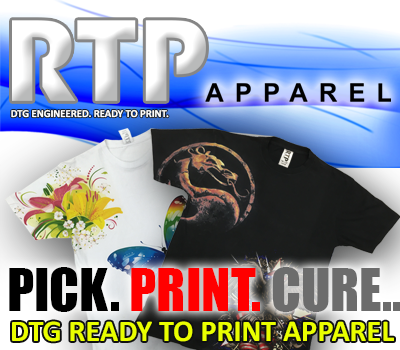 R-Series DTG inks for Ricoh Printheads