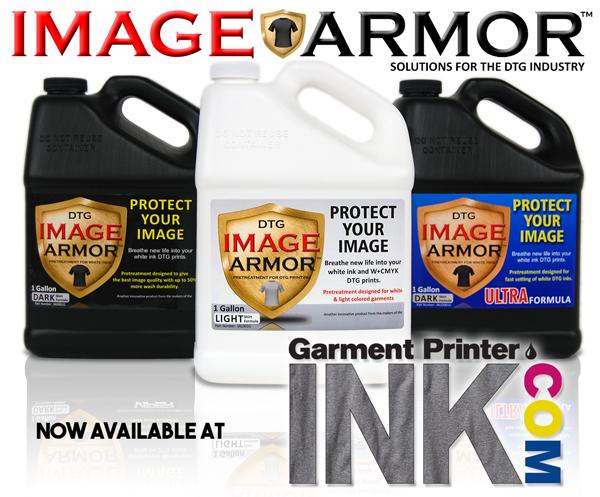 Image Armor and GarmentPrinterInc.com FREE Try Before You Buy Pretreatment Program