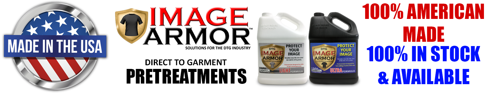 Image Armor Products are Made 100% in the USA