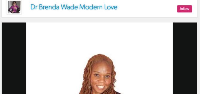 Lynne Maureen Hurdle on Dr. Brenda Wade – Modern Love