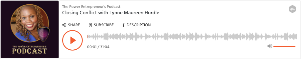 The Power Entrepreneur's Podcast-with-lynne-maureen-hurdle