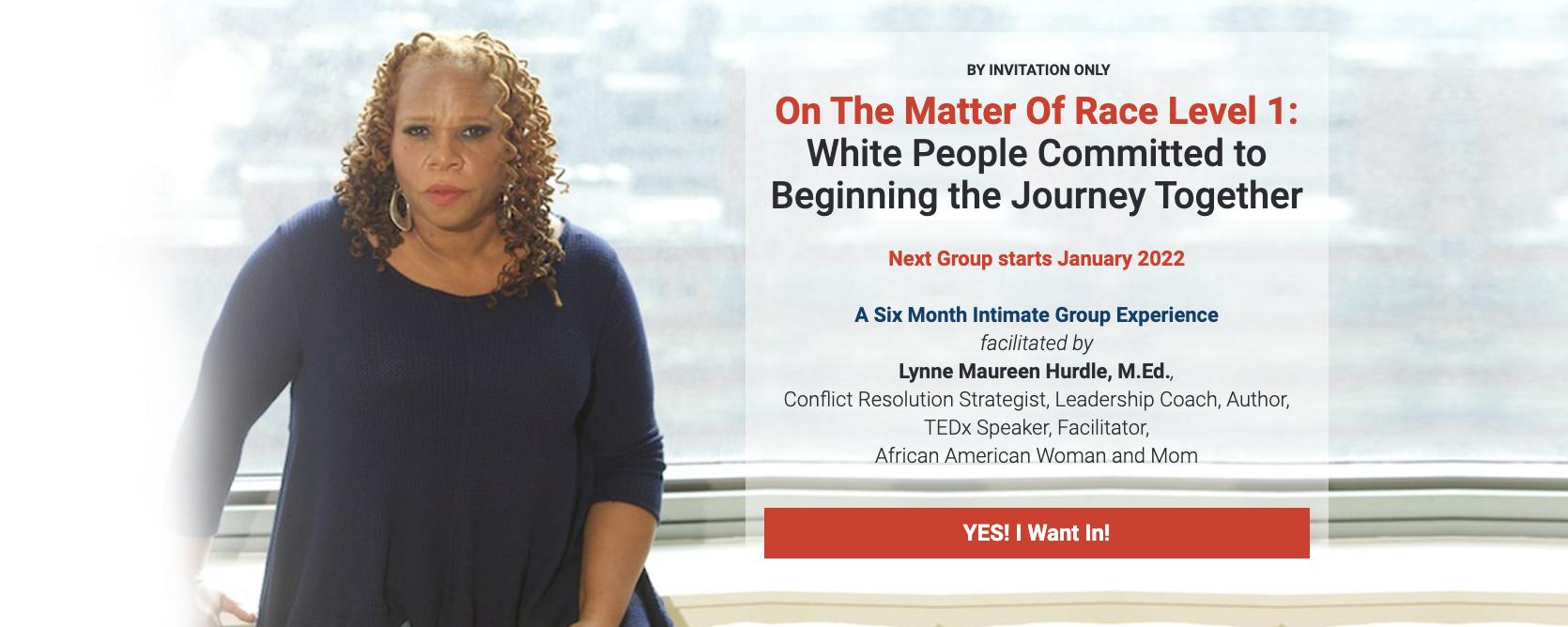 On the Matter of Race with Lynne Maureen Hurdle