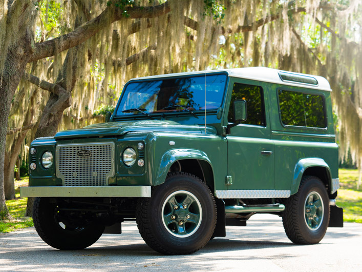 Defender With AC