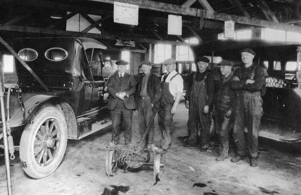 Martin Automotive Service Center Historical Image