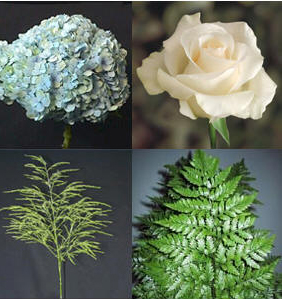 Combo Box #7 Hydrangeas and Roses Image