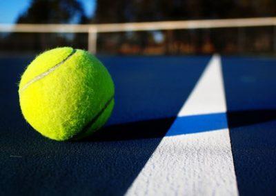A tennis ball!