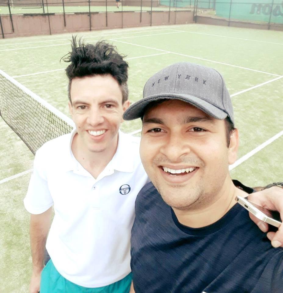 Matte and Lalit, Sydney Inner West Tennis League