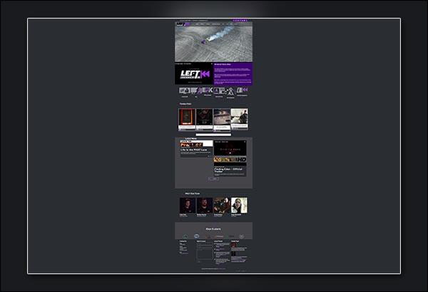 Left Digital Media Design By Vibrant Web Creations