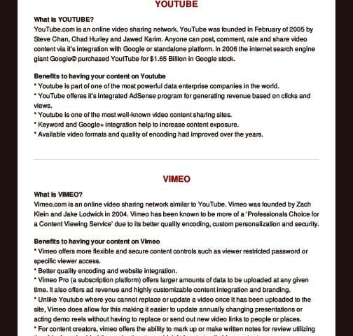 YouTube VS Vimeo ...Which is Better? Article by Left Digital Media   Digital Collective   Marketing Agency Fayetteville GA