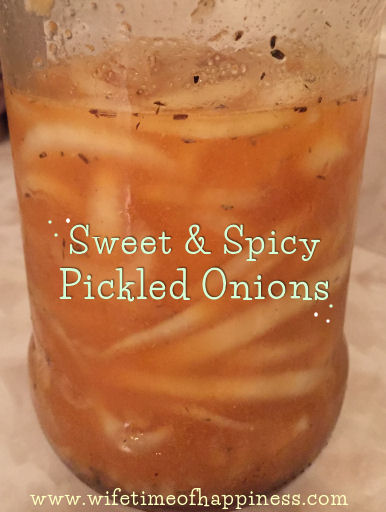 Easy Pickled Onions Recipe