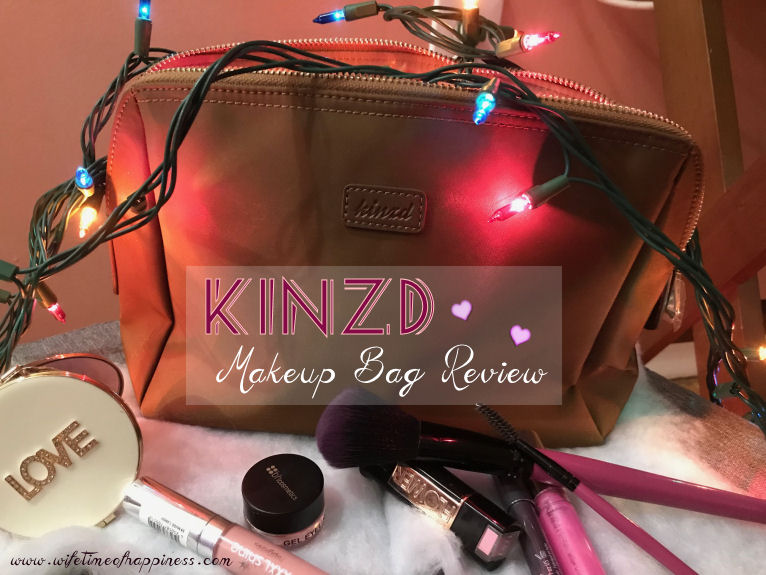 kinzd makeup bag review