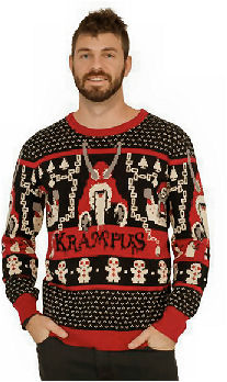 krampus christmas sweater
