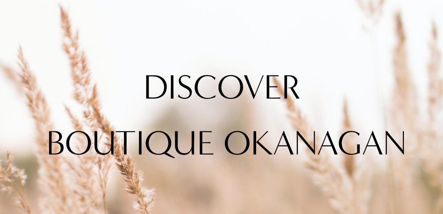 boutique okanagan