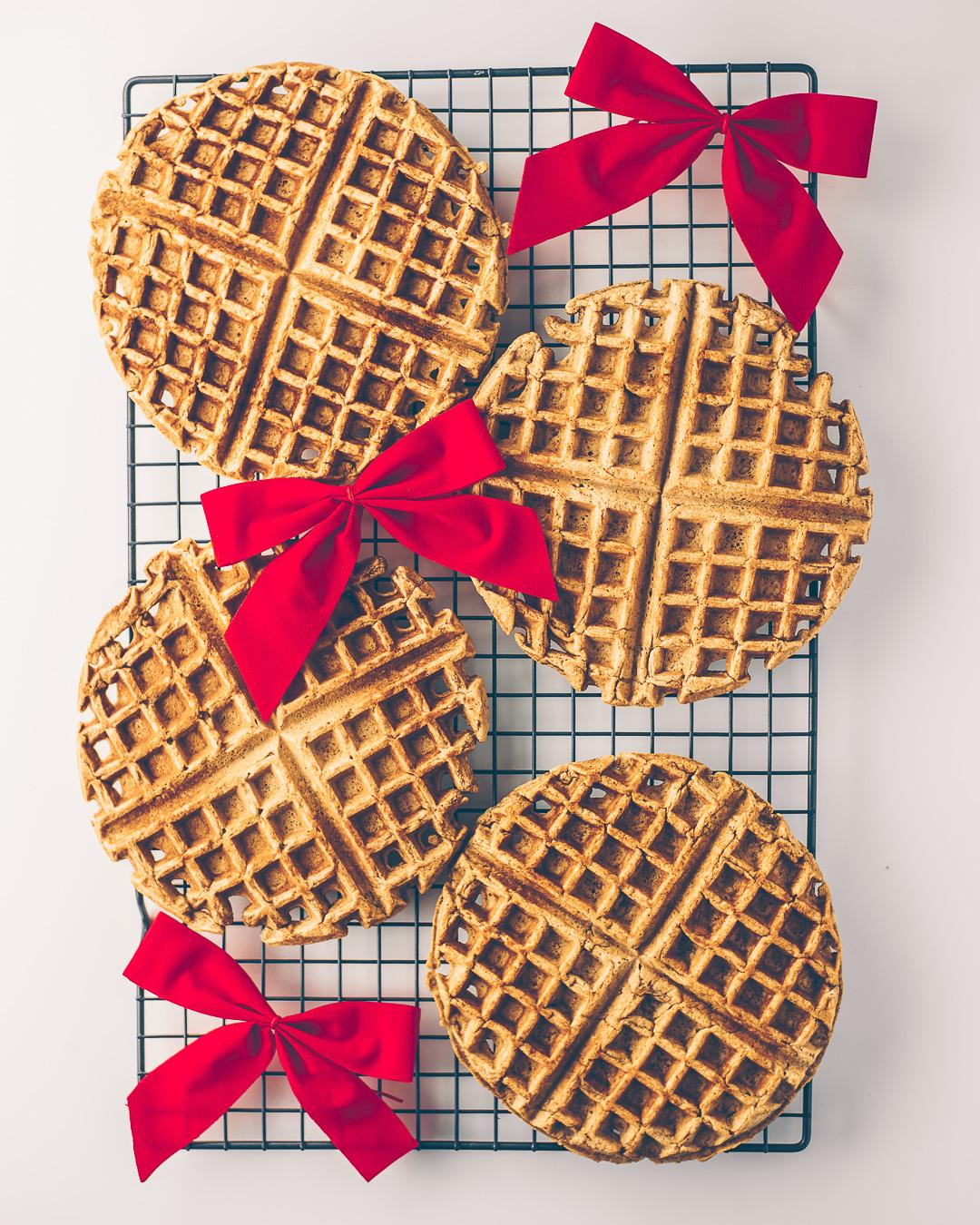 Gingerbread Waffles Mash & Spread