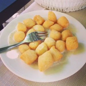 The Fried Gnocci and everything else at Cesare al Casaletto!