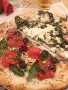 The best pizza in the world at La Notizia in Naples!