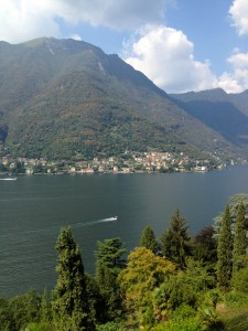 Spending the day at beautiful Lake Como!
