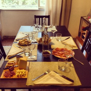 Sunday Lunch at Gina's, to whom I'm forever thankful of everything.