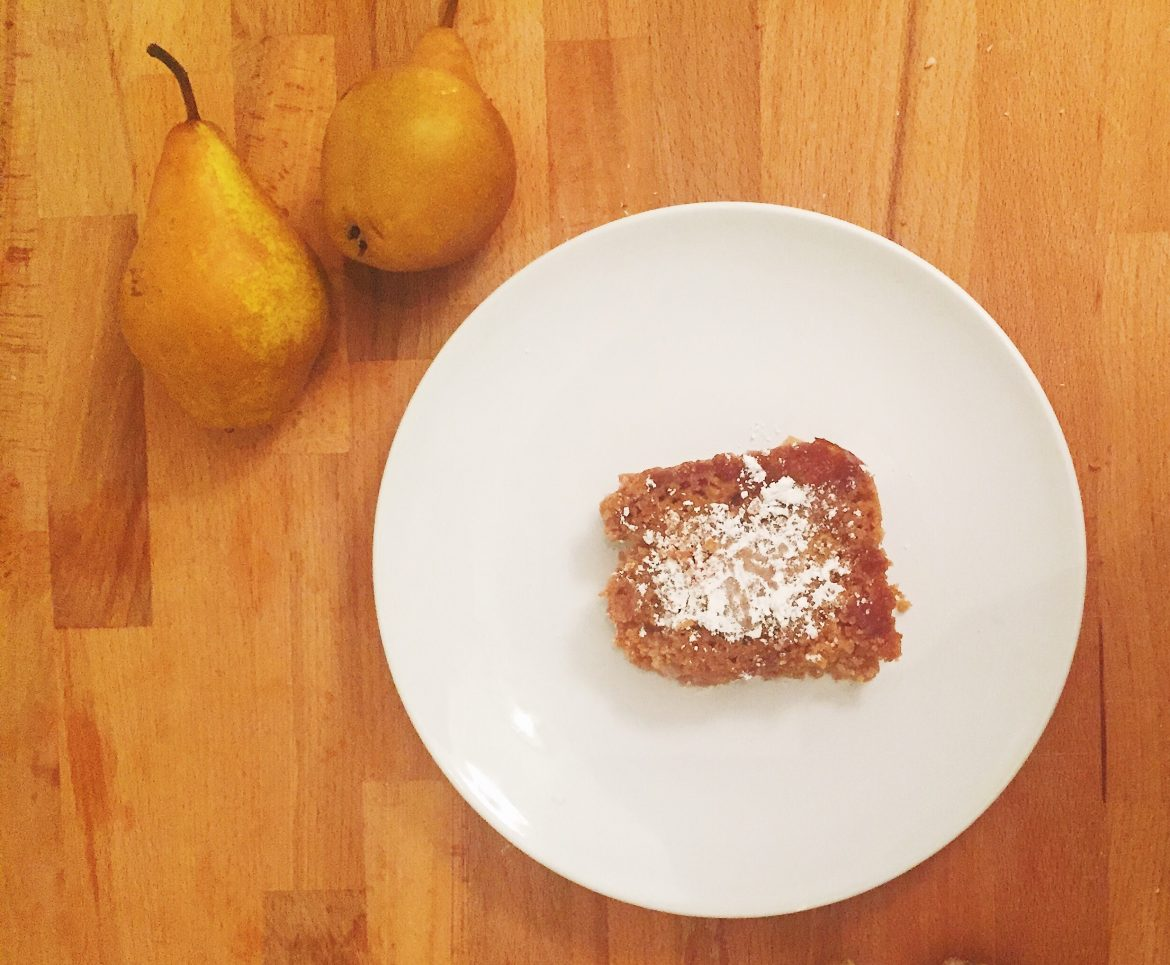 Pear and Ginger Crumble Recipe