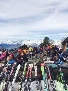 Italian Ski Resort Pila Skiing in Italy Pila gondola