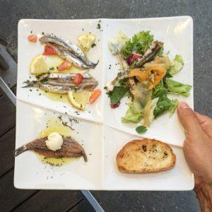 La Cantina di Miky best restaurant cinque terre anchovies 1