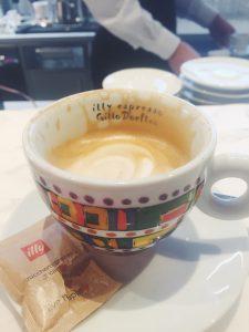 Illy Caffè Flagship Montenapoleone Milan Gillo Dorfles cup