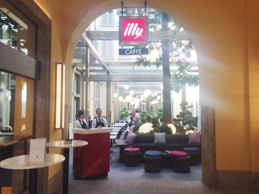 Illy Caffè Flagship Montenapoleone Milan
