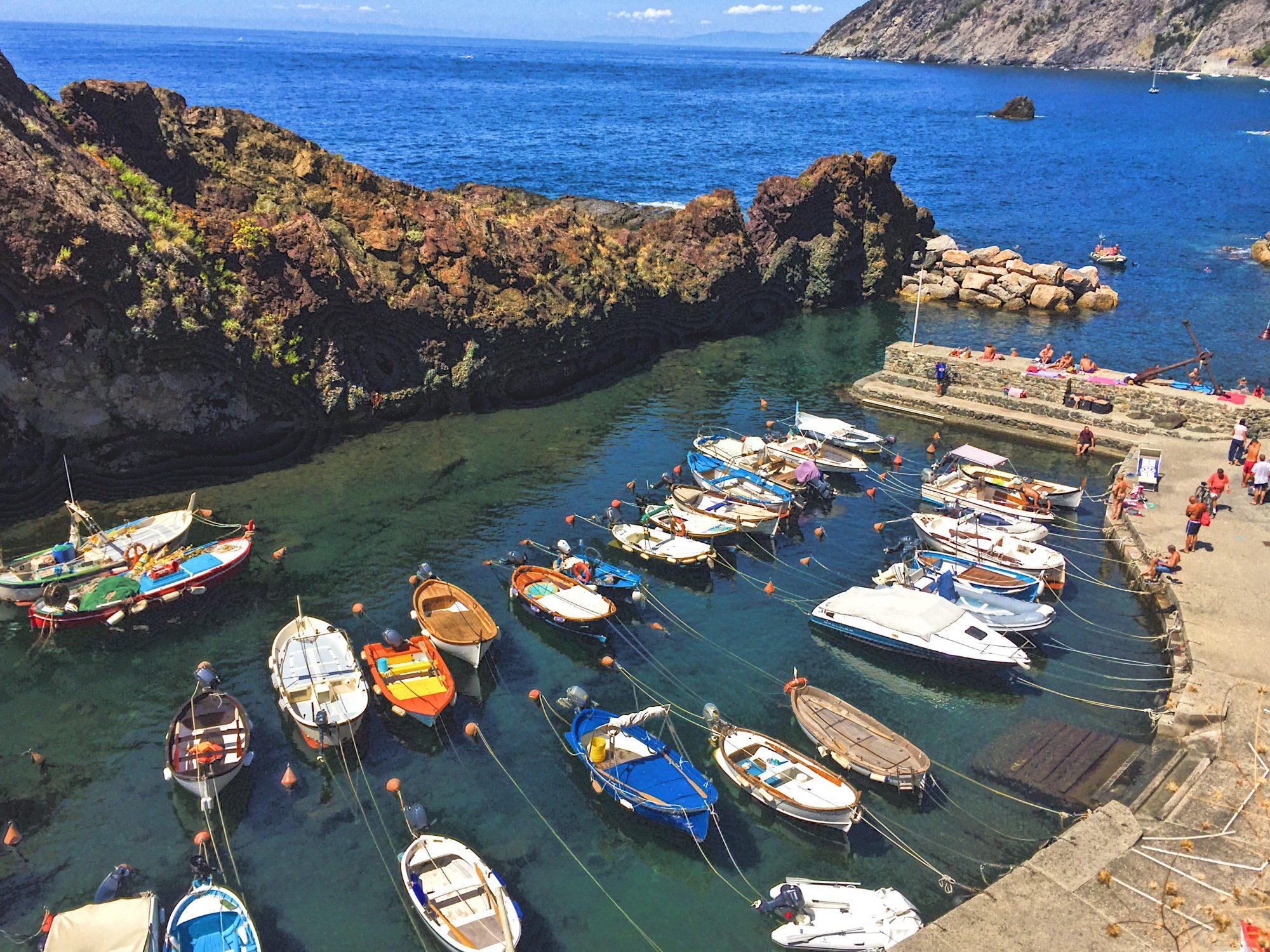 L'Agave restaurant Framura harbor
