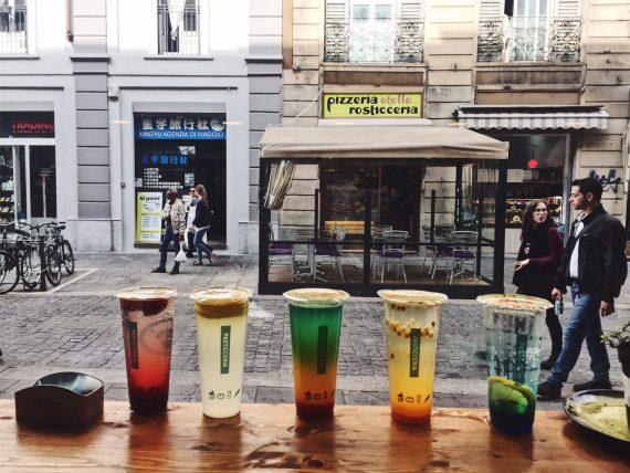 Bubble tea Milano