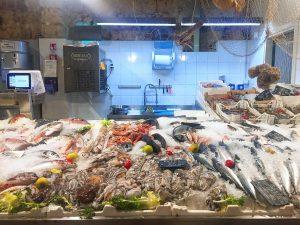 Food in Palermo Mercato San Lorenzo Fish