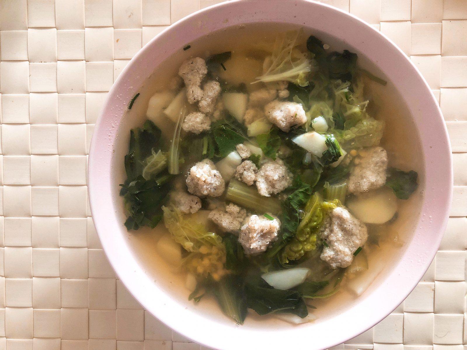 Winter minestrone soup recipe La Cucina Italiana magazine