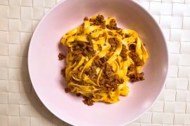 tagliatelle with ragù recipe la cucina italiana