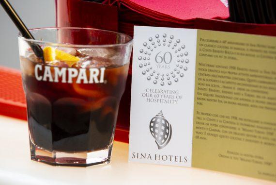 Summer aperitivo Terrazza at Sina The Gray Hotel Milan