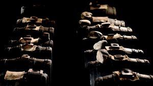 Acetaia Giusti balsamic vinegar Modena aging room ancient botte