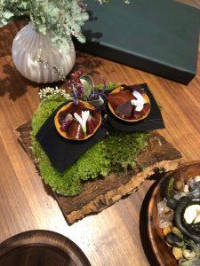 Core restaurant London Clare Smyth foie gras tarts