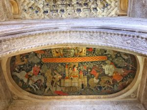 Alhambra tour Musement restored painting