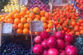 Food in Palermo El Capo Market