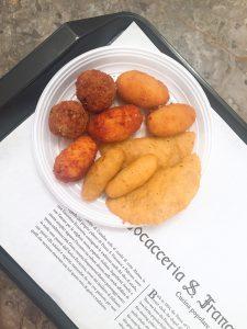 Food in Palermo Antica Focacceria San Francesco