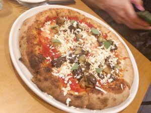 Berberè Milano eggplant pizza