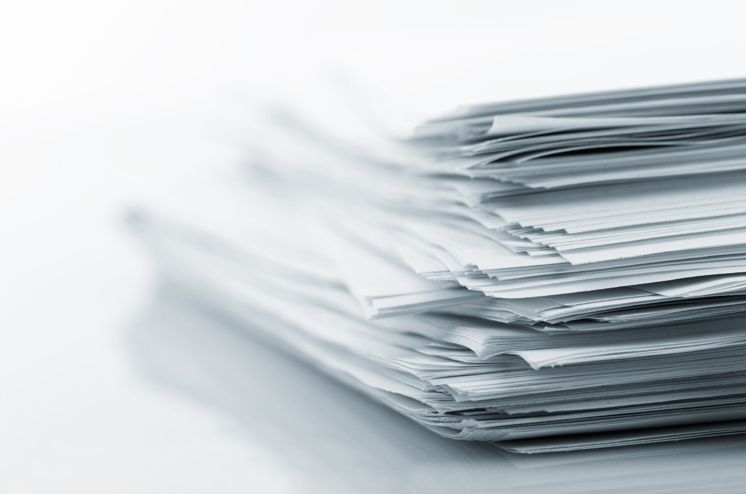 Stack,Of,White,Papers