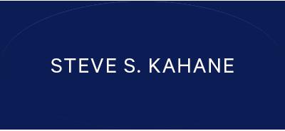 Steven S. Kahane