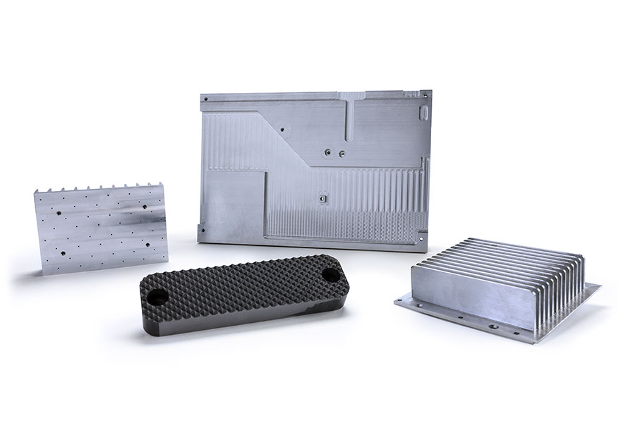 GROUP OF CNC PARTS