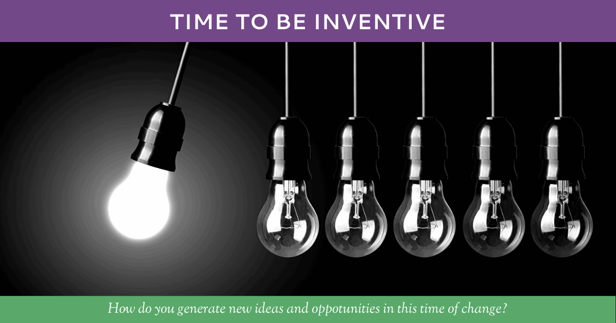 Time to Be Inventive by Hummingbird Marketing Services