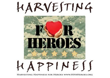 Harvesting Happiness For Heroes