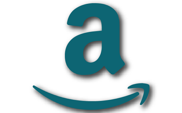 Amazon icon in blue