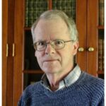 Daniel Gibs with a blue sweater, guest of this episode related to brain and memory loss with Anne Basting Ph.D.